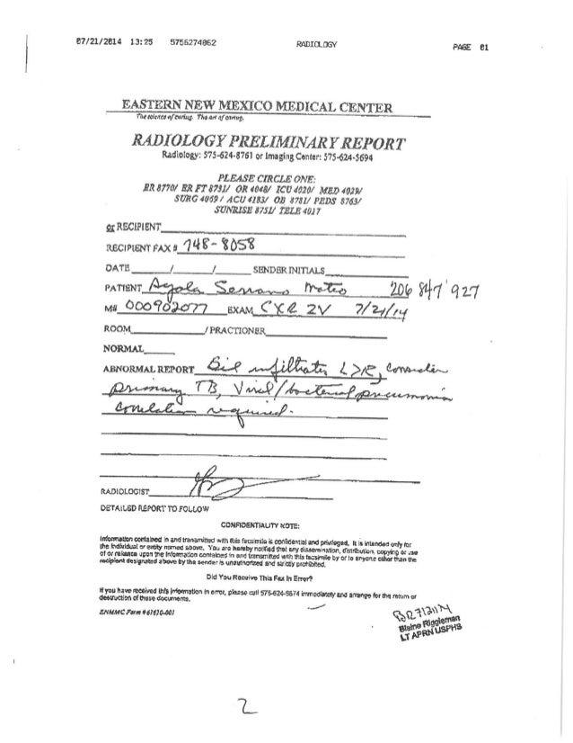 Request for prosecution part 2 Slide 2