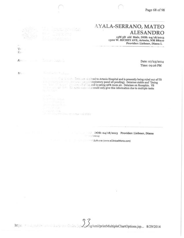 Request for prosecution part 2
