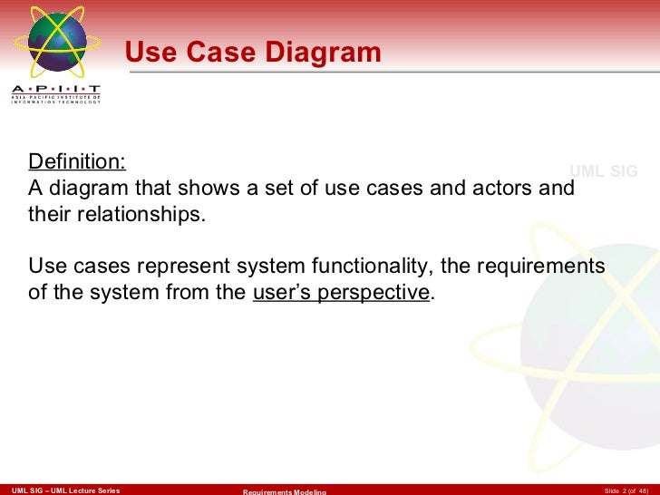 use case diagram definition - Define Uml Diagram