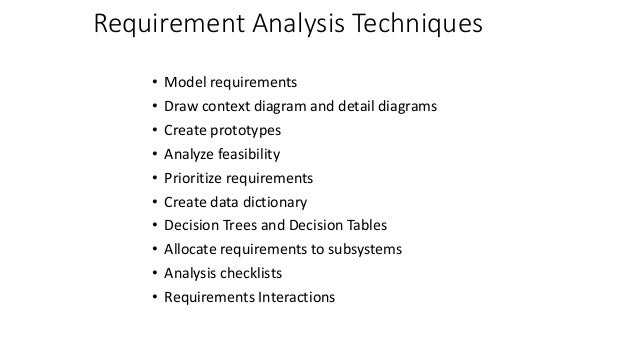 Requirements analysis and modeling 74 requirement analysis techniques model requirements draw context diagram ccuart Images