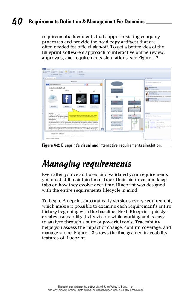 Requirements definition and management for dummies 52 malvernweather Choice Image