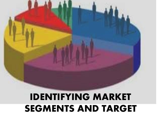 IDENTIFYING MARKET SEGMENTS AND TARGET