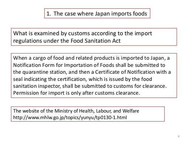 The general rules for agricultural produce