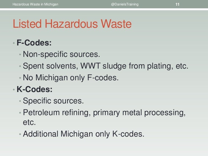 Characteristic Hazardous Wastes Corrosivity Waste Code D002 Liquid With A Ph Less