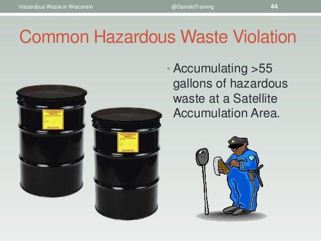 Requirements for Hazardous Waste Generators in Wisconsin