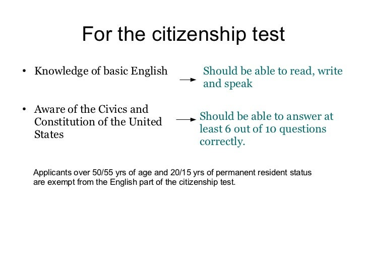 what is a naturalization process