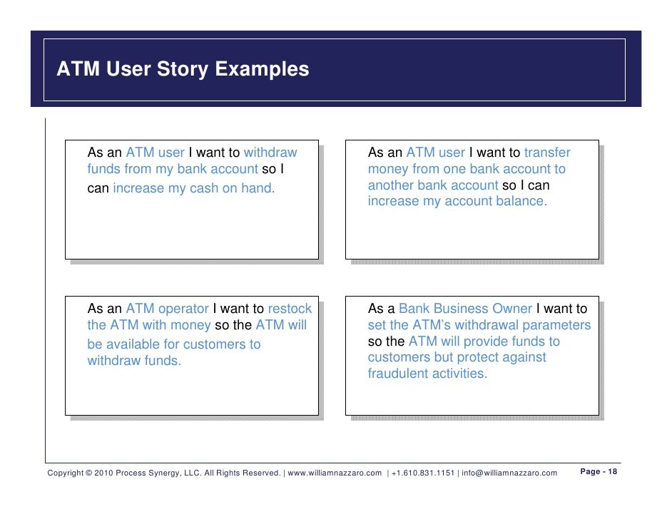 Requirements made easy with user stories v2 for As a user i want user story template