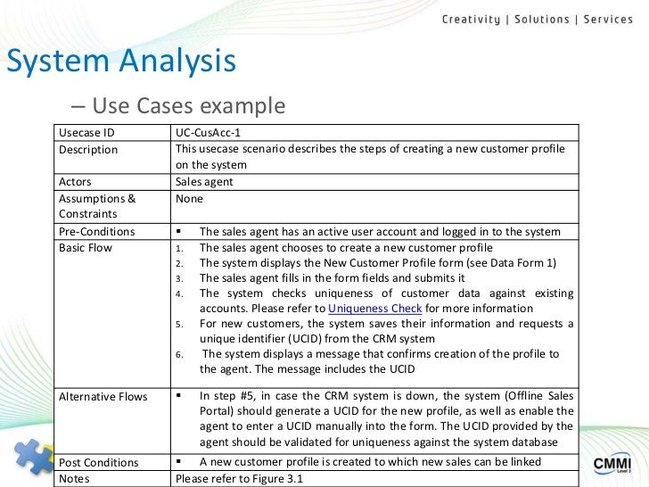 use case an analysis A case study analysis requires you to investigate a business problem, examine the alternative solutions, and propose the most effective solution using supporting evidence case under study showing problems or effective strategies, as well as recommendations.