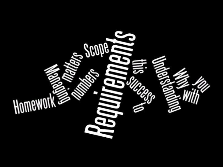 Requirements = Scope, BA World Bengaluru 2011 Slide 3