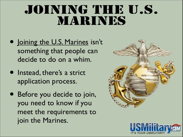 Can you join the marines with a ged