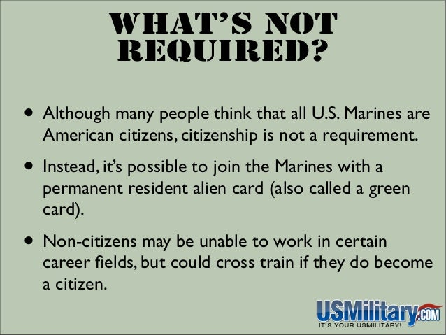 Can u join the marines with a ged