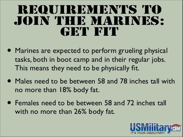 Requirements To Join The Marines: Do You Have What It ...