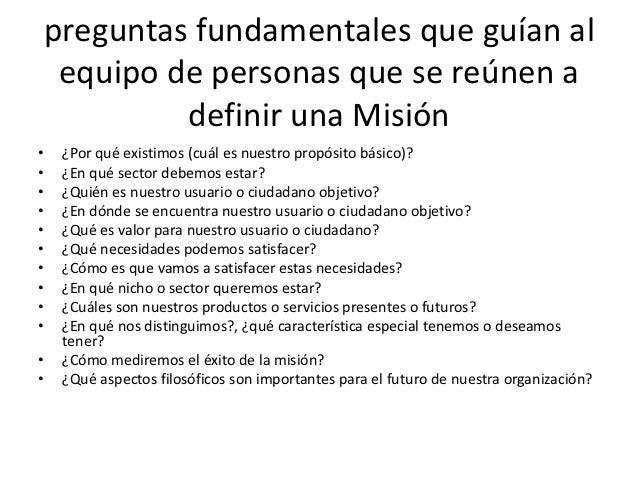 Requisitos para elaborar una misión y visión de Slide 3