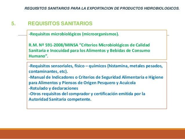 Pedro espino recomienda requisitos sanitarios productos for Manual de procedimientos de alimentos y bebidas de un hotel