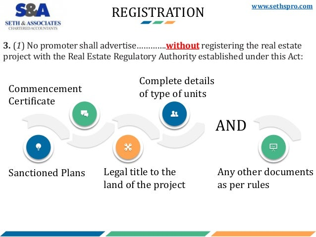Real Estate (Regulation & Development) Act, 2016