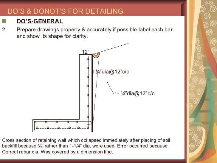 Concrete Wall Design Example