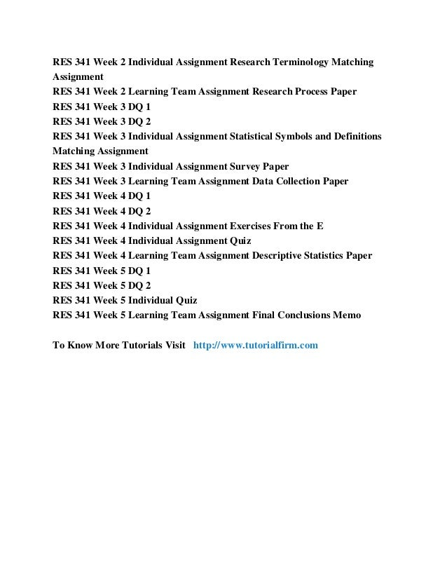 individual current business research project paper Description res 351 week 1 individual assignment current events in business research paper we have another new set of week 1 paper (with new instruction) which could be found on this link.