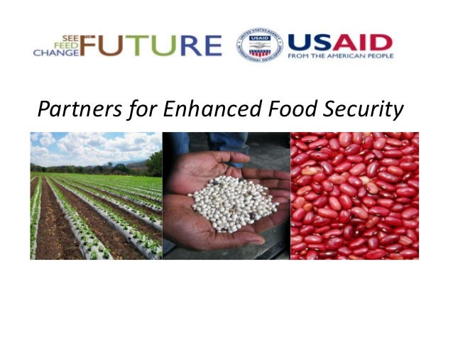 Partners for Enhanced Food Security