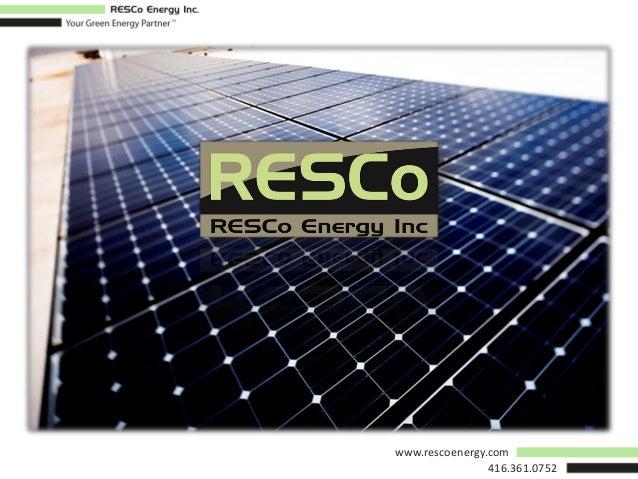 www.rescoenergy.com 416.361.0752
