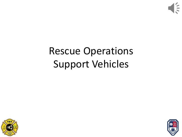 Rescue ops overview for centrelearn