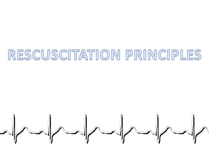OBJECTIVES• How to perform BLS procedures• How to use AED.• Know when to stop and when not to initiate CPR.• Principles of...