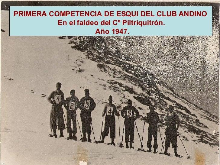 Resultado de imagen para club andino piltriquitron.historia
