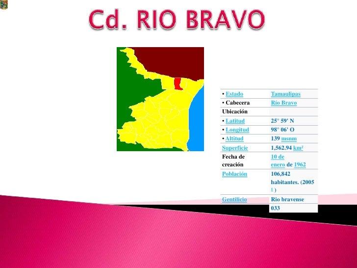Cd. RIO BRAVO<br />