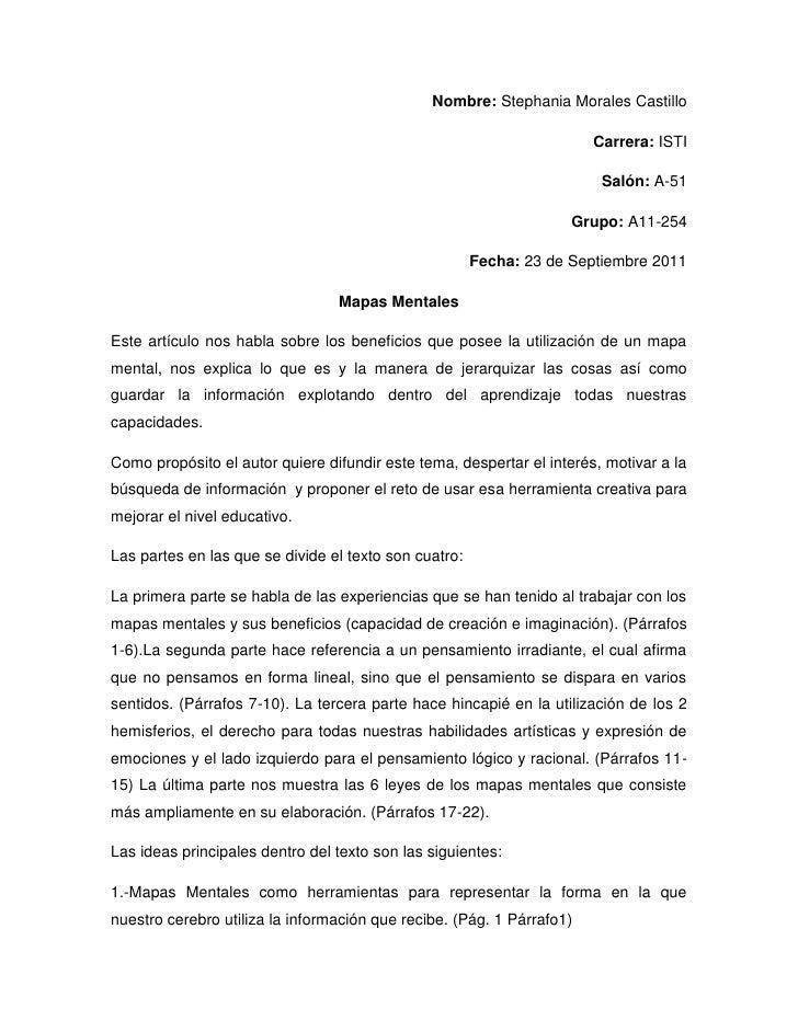 Nombre: Stephania Morales Castillo<br />Carrera: ISTI<br />Salón: A-51<br />Grupo: A11-254<br />Fecha: 23 de Septiembre 20...