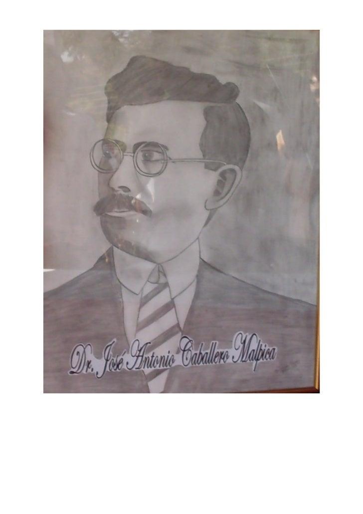 """Reseña Histórica del L. B.""""José Antonio Caballero Malpica""""        La presente es una reseña histórica de la máxima casa de..."""