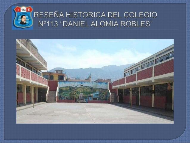 RESEÑA HISTORICA DEL COLEGIO DAR.Les presentamos en breves palabras una reseña histórica de nuestraInstitución Educativa. ...