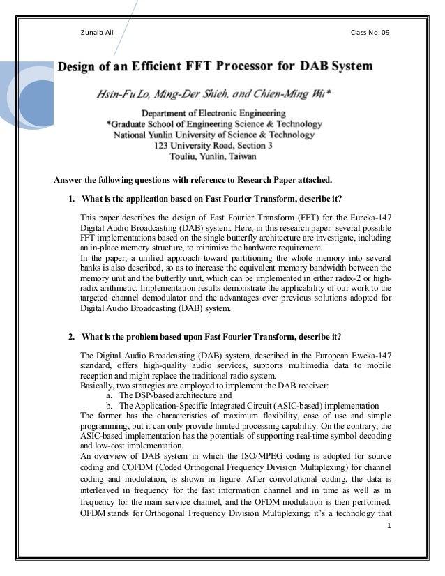 Zunaib Ali                                                                  Class No: 09Answer the following questions wit...
