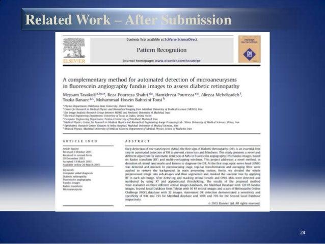 Diabetic retinopathy research paper