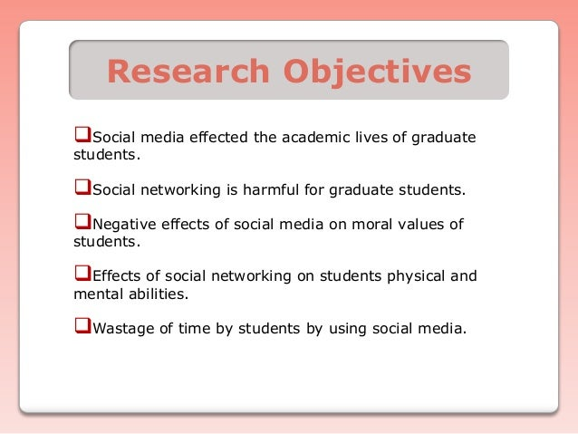 The Impact of Social Media on Students