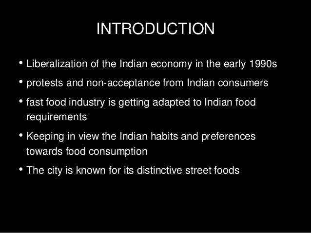 consumer preference towards fast food in india Wwwajbmsorg asian journal of business and management sciences issn: 2047-2528 vol 2 no 8 [73-90.