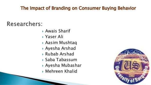 effect of branding on consumer purchase decision Have you ever wanted to know why people buy and what influences consumer purchase decisions here's an in-depth breakdown of consumer habits to join brand fan communities to leverage promotions and sweepstakes.