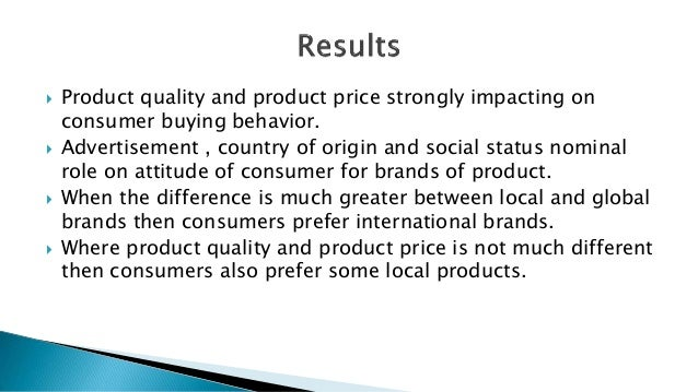 brand effect on consumer buying behavior The impact of branding on consumers' behaviour (a case study of  of consumer behavior is  banding strategy since consumer buying.