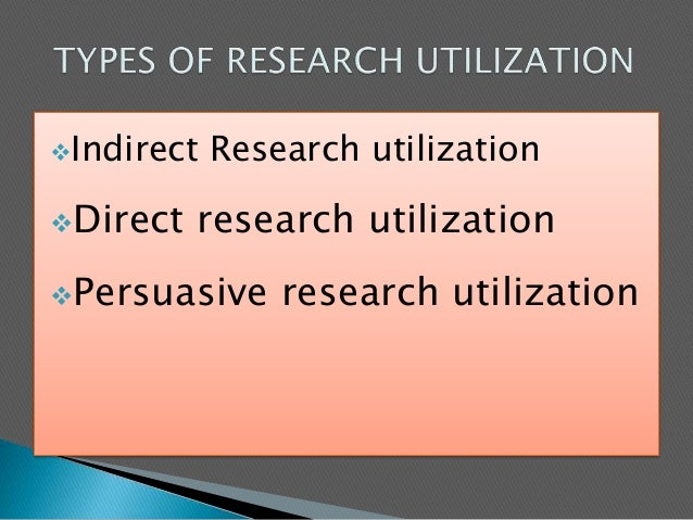 barriers of research utilization for nurses And (3) the barriers research utilization scale these 3 sec- tions were  designed to assess 5 domains: (1) nurses' research values, skills.