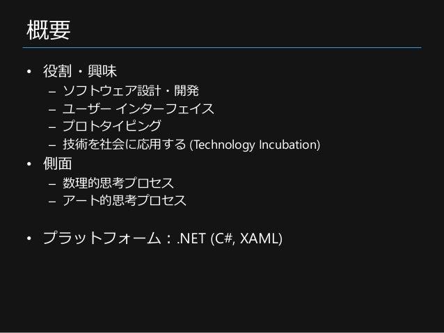 研究・開発の紹介 (2016) Slide 2