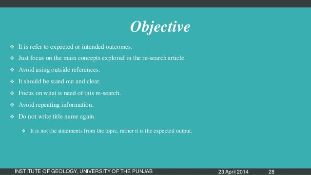 research papers componets Components of a research paper in this segment, the key components of a  quality research paper will be identified and discussed.