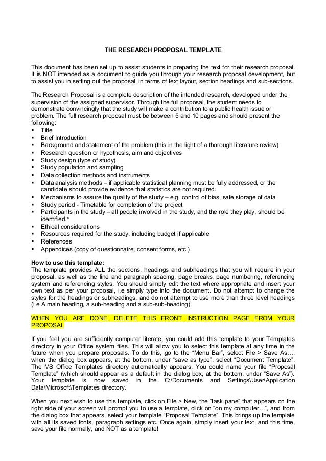 Organisational behaviour phd research proposal