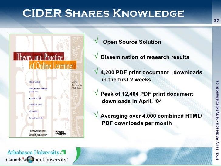 <ul><li>√  Open Source Solution  </li></ul><ul><li>√  Dissemination of research results  </li></ul><ul><li>√  4,200 PDF pr...