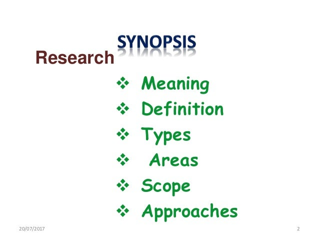 Types of research approach for data collection