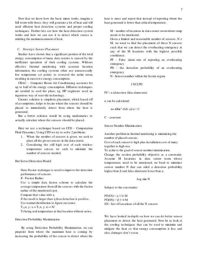Processor research paper
