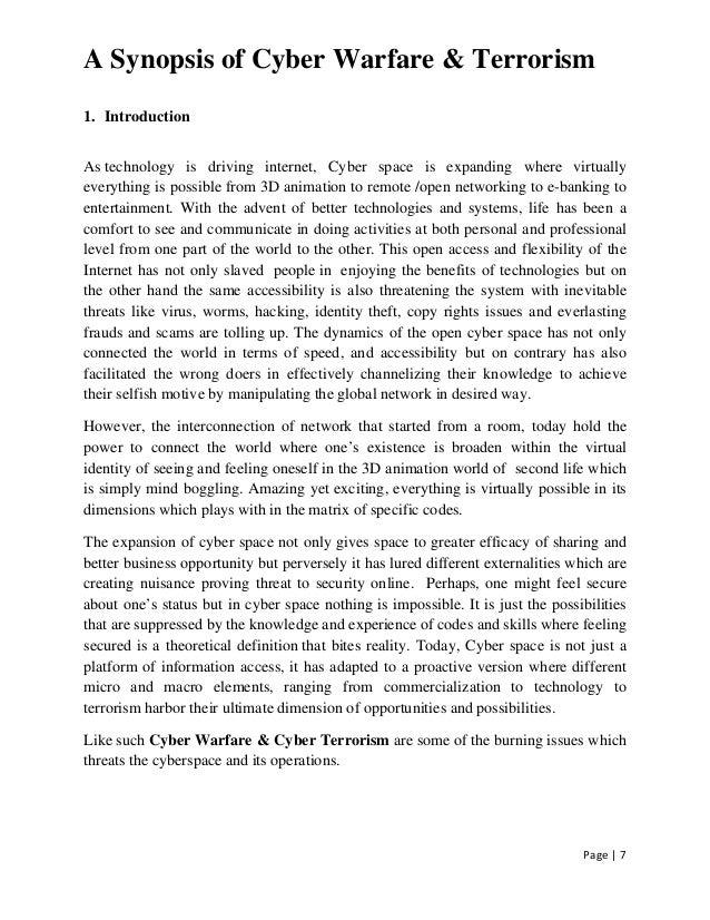 Comprehensive essay on terrorism