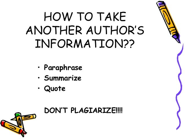how not to plagiarize in a research paper Plagiarism - top 10 ways to stay out of trouble when writing your dissertation, thesis, or paper - plagiarism advice and awareness.