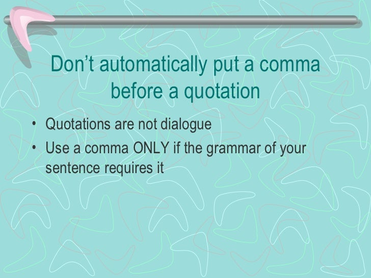 Do You Put Commas Before Quotes: Research Paper-quotations-1205750933845951-4