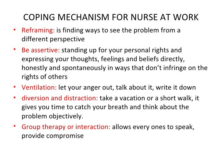 coping with stress in care environments The estimated national cost of health care worker stress is about $250 or other supportive environments such as self-care, and stress and coping self.