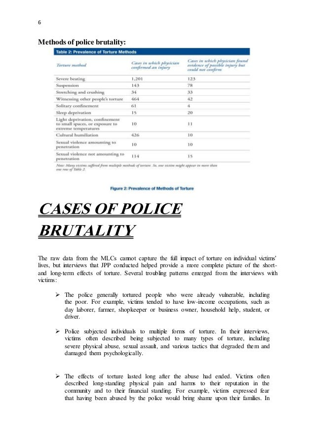 research proposal on police brutality Some interview/survey questions that might draw the information we need to answer the research  what is your definition of police brutality.