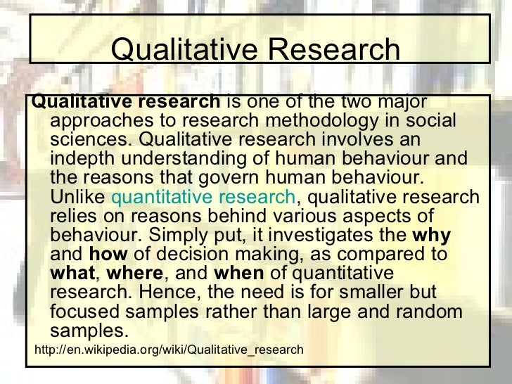 What is thesis writing quantitative research