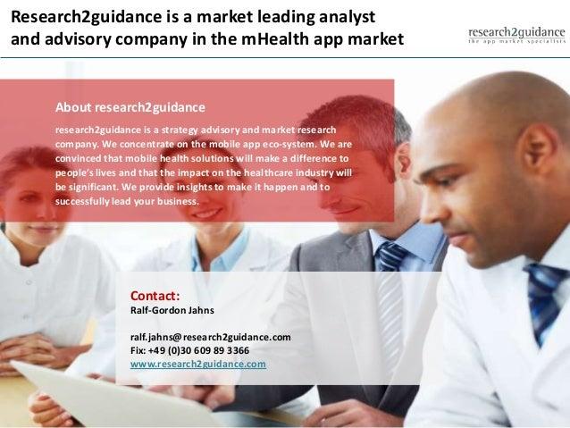 Research2guidance mHealth App Developer Economics 2014 Study Slide 3